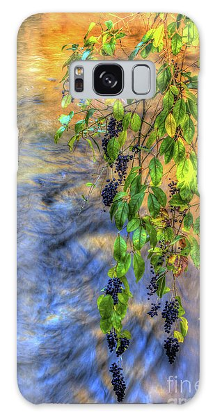 Wild Grapes Galaxy Case