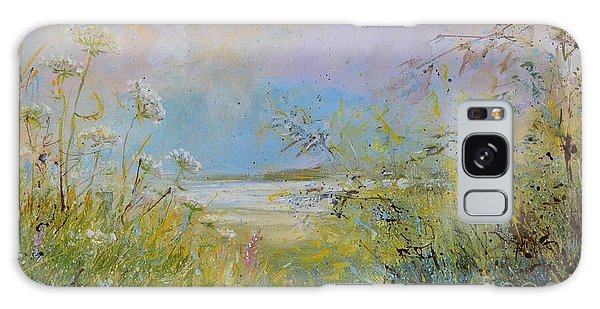 Wild Grasses Of Saugatuck Galaxy Case