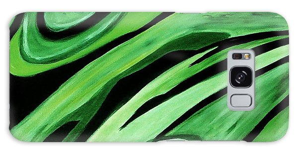 Wild Green Galaxy Case