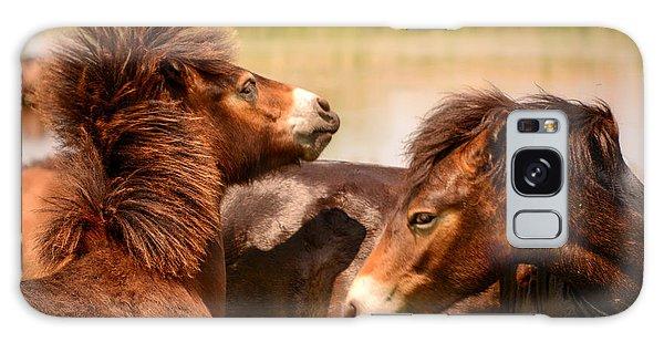 Wild Horses 5 Galaxy Case