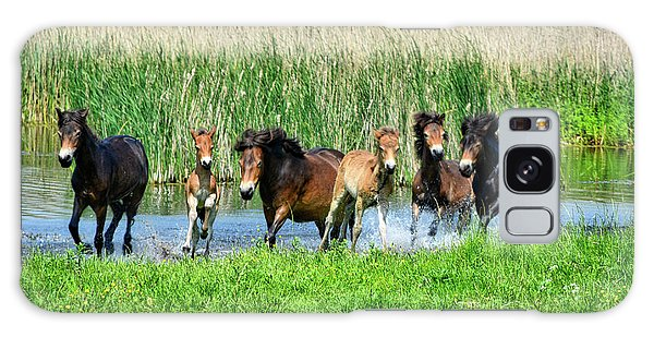 Wild Horses 6 Galaxy Case
