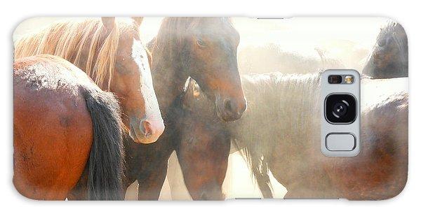 Wild Horses - Australian Brumbies 2 Galaxy Case by Lexa Harpell