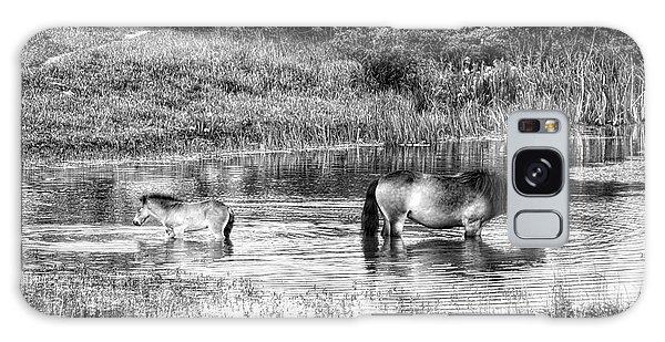 Wild Horses Bw2 Galaxy Case