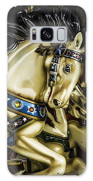 County Fair Galaxy Case - Wild Horses Ride by Garry Gay