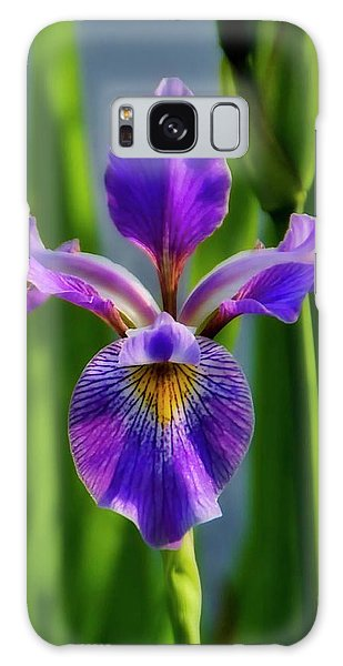 Wild Iris In Flight Galaxy Case