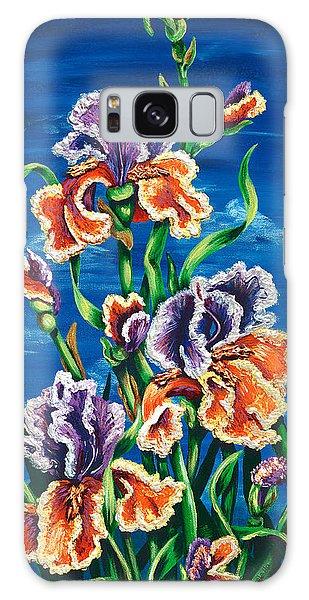 Wild Iris Galaxy Case