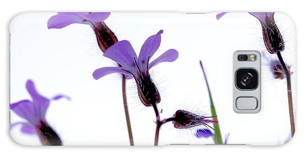 Wild Knotted Cranesbill Galaxy Case