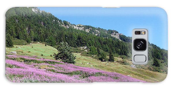 Wild Lavender Galaxy Case