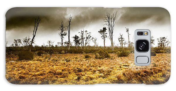 Farmland Galaxy Case - Wild Moors  by Jorgo Photography - Wall Art Gallery