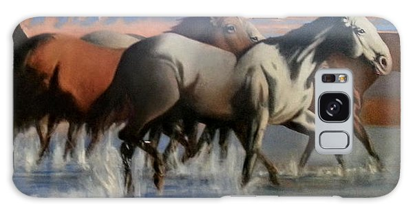 Wild Mustangs Of The Verder River Galaxy Case