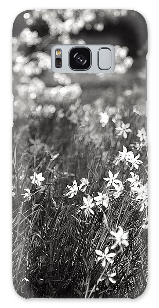 Wild Narcissus At The Forest's Edge Galaxy Case by Colleen Williams