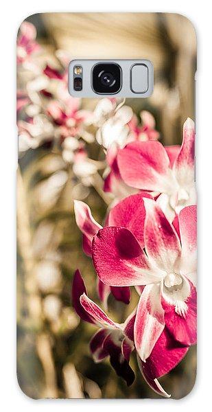 Wild Orchids Galaxy Case