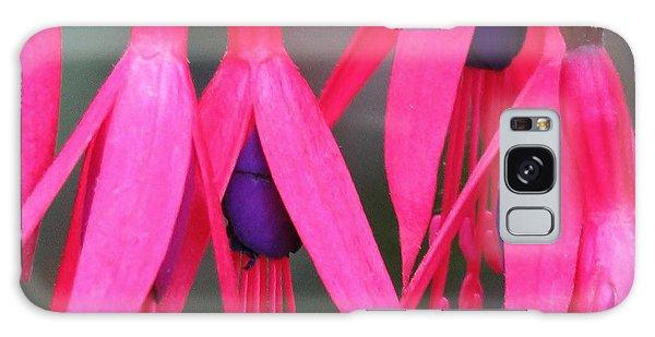 Wild Oregon Fuchsia  Galaxy Case by Michele Penner