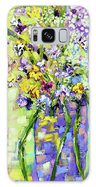 Wild Profusion Galaxy Case by Lynda Cookson