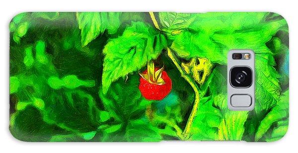 Wild Raspberry - Pa Galaxy Case