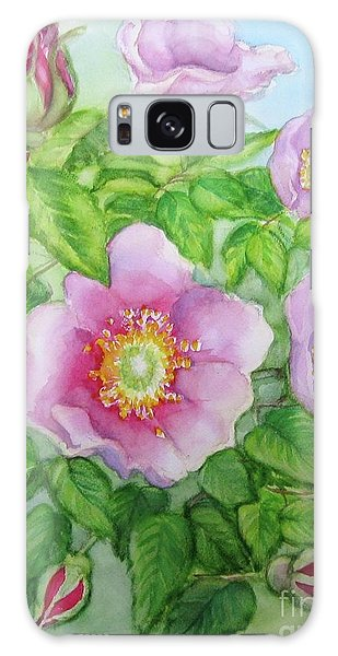 Wild Rose 3 Galaxy Case