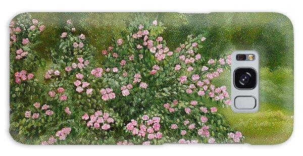 Wild Roses Galaxy Case