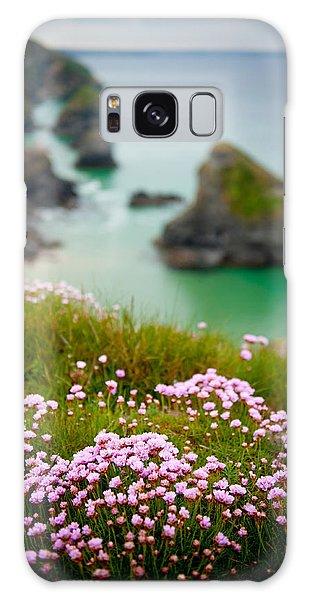 Wild Sea Pinks In Cornwall Galaxy Case
