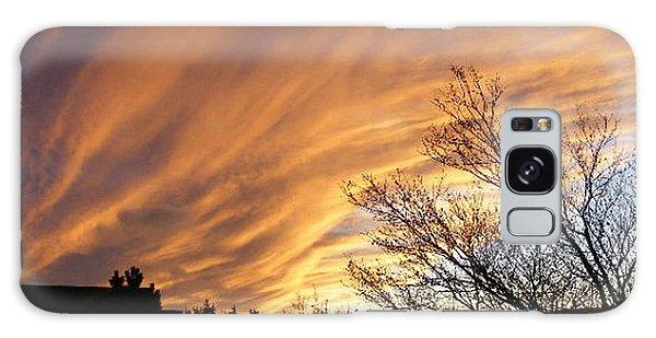 Wild Sky Of Autumn Galaxy Case by Barbara Griffin