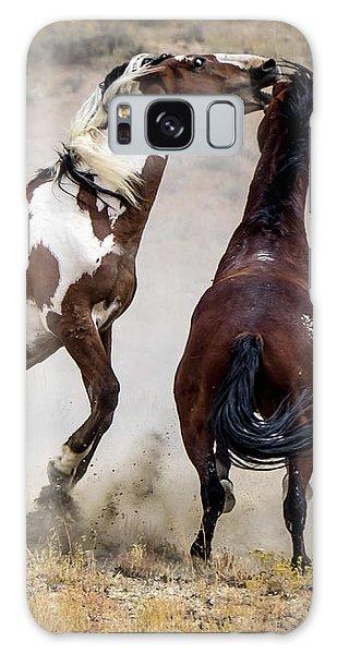 Wild Stallion Battle - Picasso And Dragon Galaxy Case
