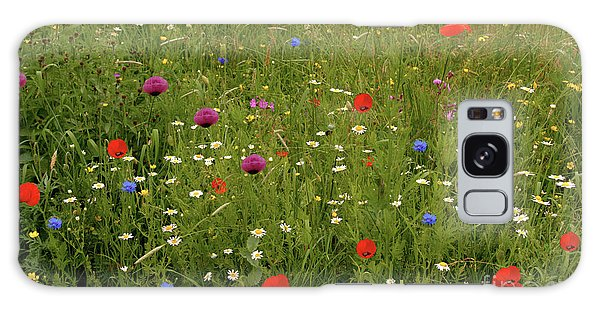 Wild Summer Meadow Galaxy Case