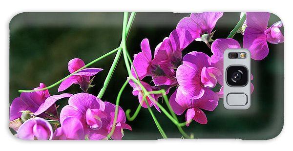 Wild Sweet Peas Galaxy Case
