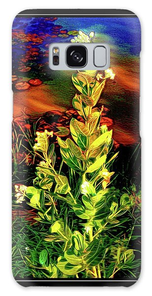 Wild Thai Lake Jasminum - Photo Painting Galaxy Case by Ian Gledhill