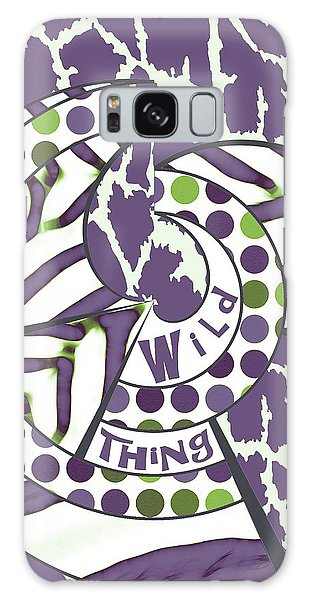 Wild Thing Galaxy Case by Methune Hively