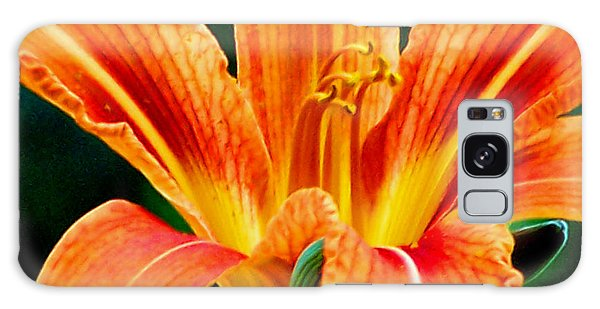 Wild Tiger Lily Galaxy Case