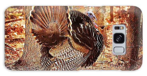 Galaxy Case featuring the photograph Wild Turkey by Angel Cher