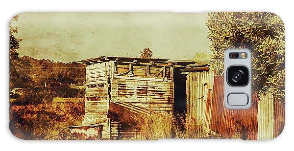 Shed Galaxy Case - Wild West Australian Barn by Jorgo Photography - Wall Art Gallery