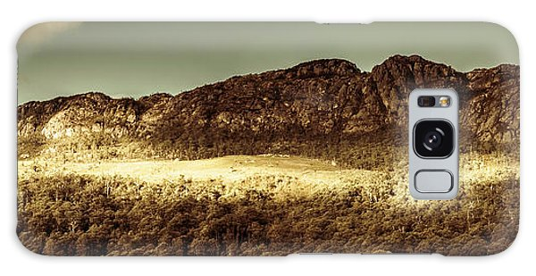 National Monument Galaxy Case - Wild West Mountain Panorama by Jorgo Photography - Wall Art Gallery