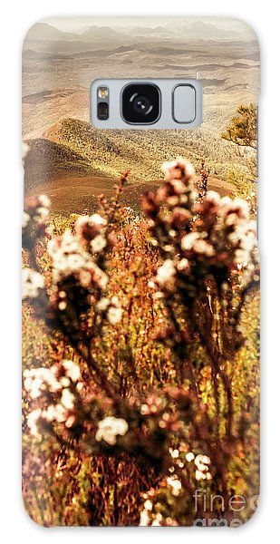 Shrub Galaxy Case - Wild West Mountain View by Jorgo Photography - Wall Art Gallery