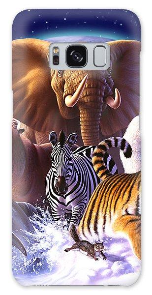 Wildlife Galaxy Case - Wild World by Jerry LoFaro