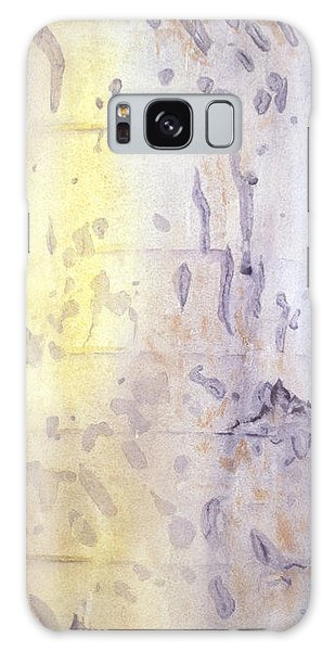 Wilderness Calligraphy - Aspen Tree Galaxy Case