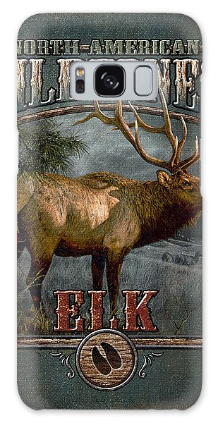 Wilderness Elk Galaxy Case