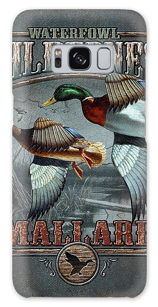 Wilderness Mallard Galaxy Case