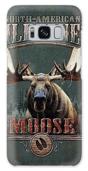 Antlers Galaxy Case - Wilderness Moose by JQ Licensing