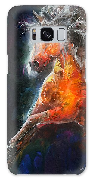 Wildfire Fire Horse Galaxy Case