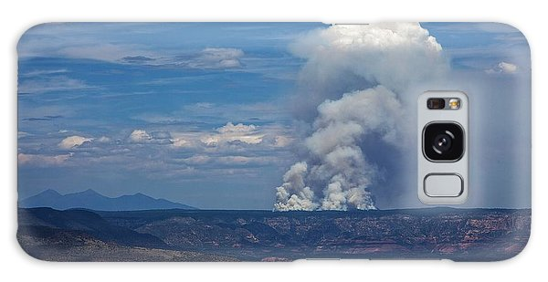 Wildfire Flares Up In Northern Az Galaxy Case
