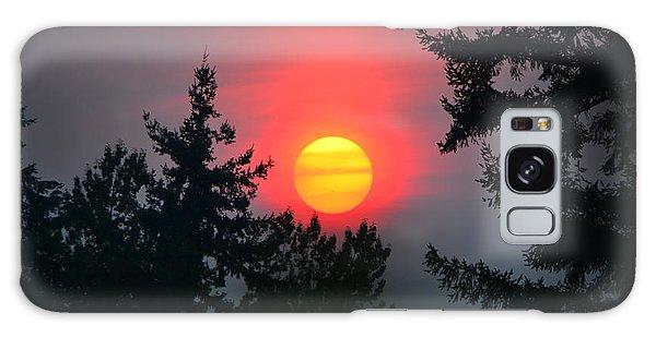 Wildfire Sunset Galaxy Case