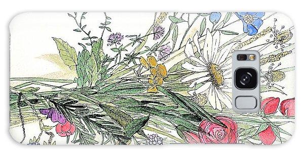 Wildflower Bouquet Galaxy Case