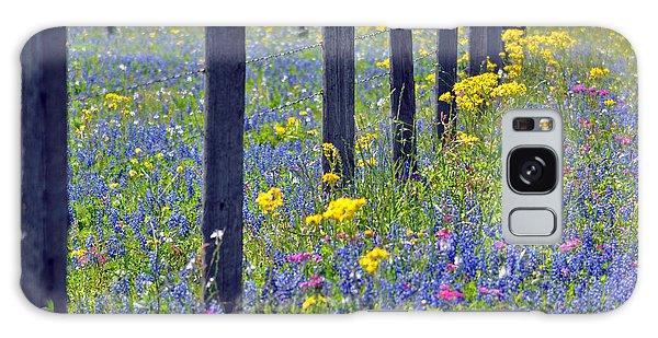 Wildflower Fenceline Galaxy Case