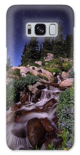 Indian Peaks Wilderness Galaxy Case - Wildflower Finale In The Indian Peaks by Mike Berenson
