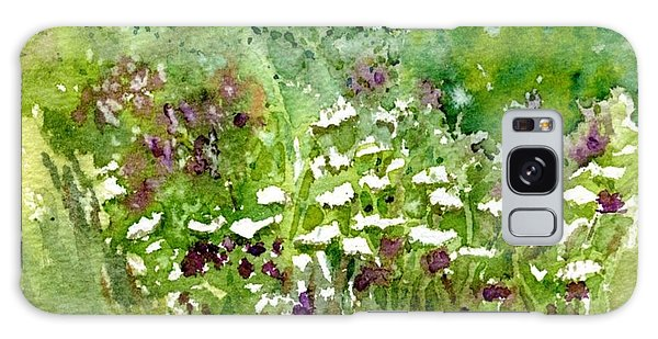 Wildflower Meadow Galaxy Case