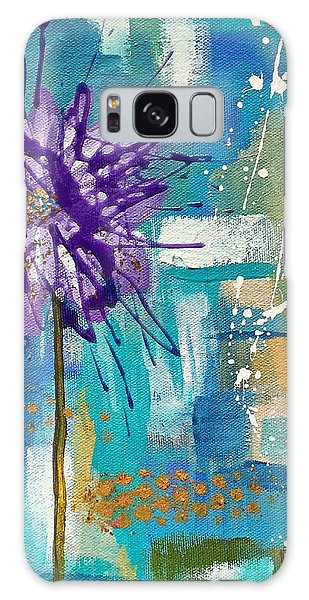 Wildflower No. 1 Galaxy Case
