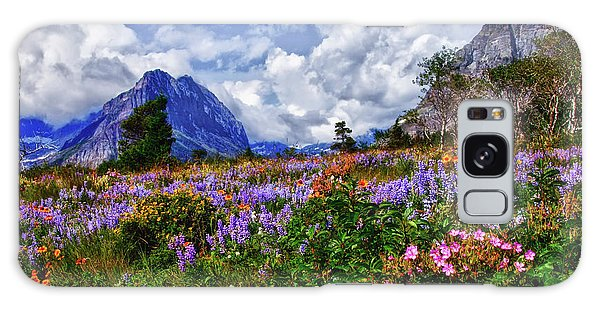 Wildflower Profusion Galaxy Case by Albert Seger