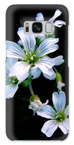 Wildflower Galaxy Case by Robert Knight