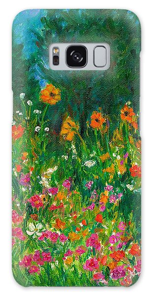 Wildflower Rush Galaxy Case