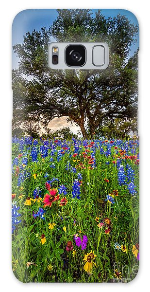 Expanse Galaxy Case - Wildflower Tree by Inge Johnsson